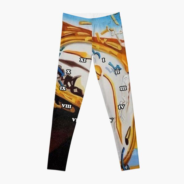 Salvador Dali Paintings Watches Leggings