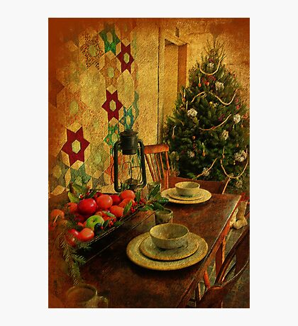 Old Fashioned Christmas At Atalaya Photographic Print