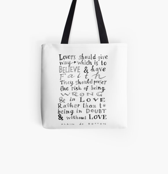 lovers should give way All Over Print Tote Bag