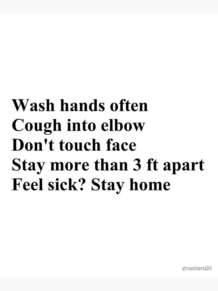 Wash Hands Often by znamenski