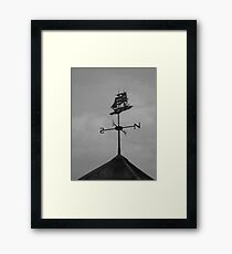 Bad Weather on the way Framed Print