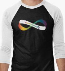 Neurodiversity Möbius Men's Baseball ¾ T-Shirt