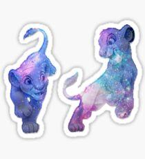 Pegatina Galaxy Lions