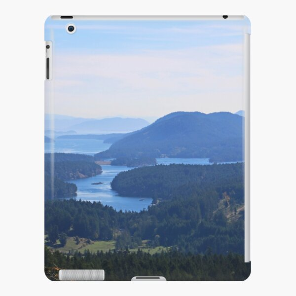 Islands view from Mount Parke Mayne Island iPad Snap Case