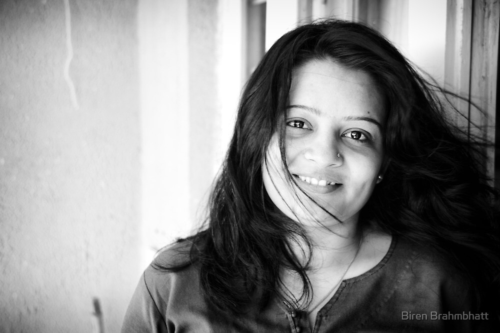 Purvi's portrait by Biren Brahmbhatt