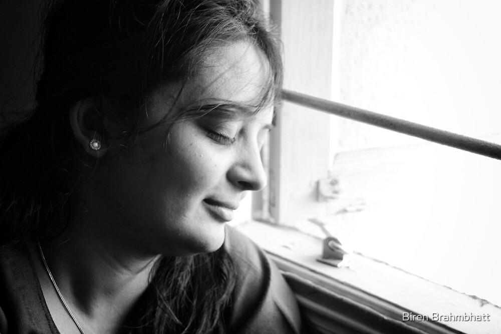 Feeling breeze by Biren Brahmbhatt