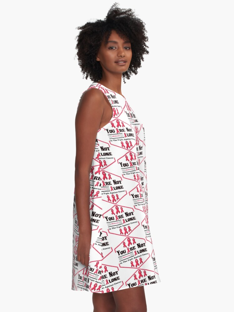 Alternate view of You Are Not Alone A-Line Dress