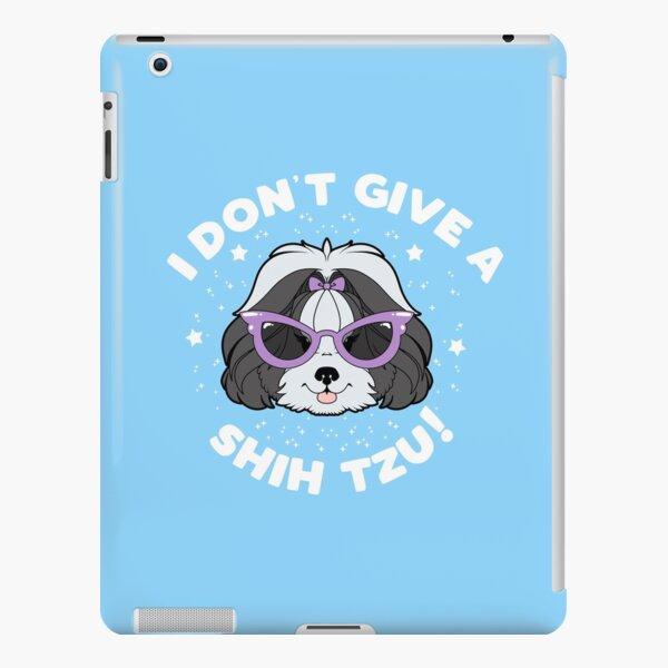 Copy of I Don't Give A Shih Tzu - Black iPad Snap Case