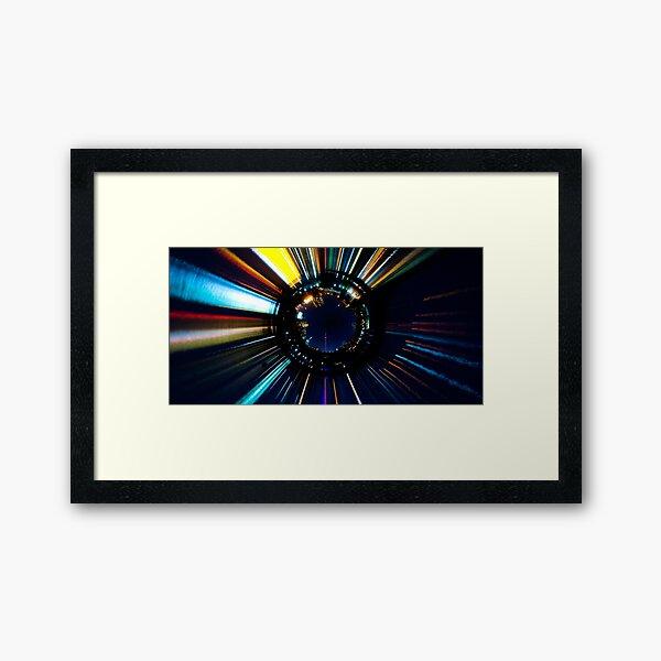 Star of the Lake Framed Art Print
