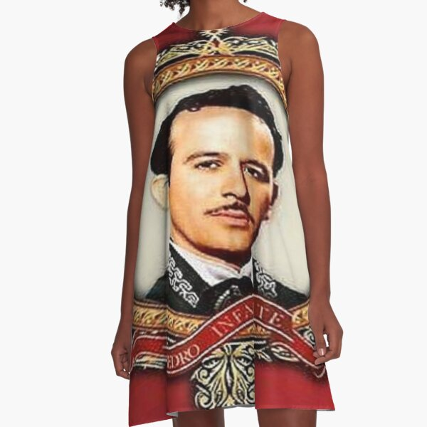 Pedro Infante,a Mexican Icon A-Line Dress