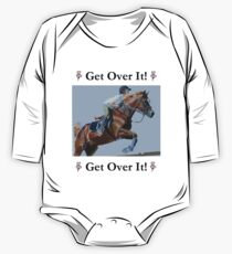 Get Over It! Horse T-Shirts & Hoodies One Piece - Long Sleeve