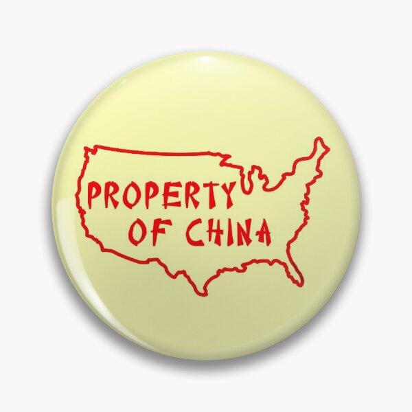 Property of China Pin