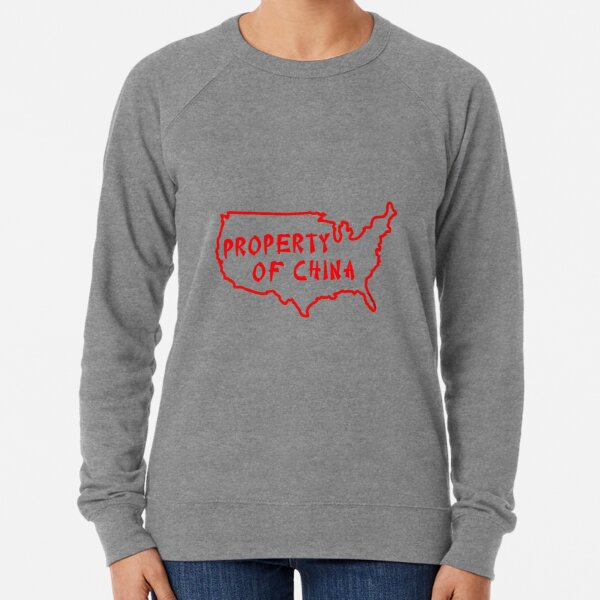 Property of China Lightweight Sweatshirt