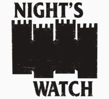 Castle Black Flag (Game of Thrones / Night's Watch shirt)