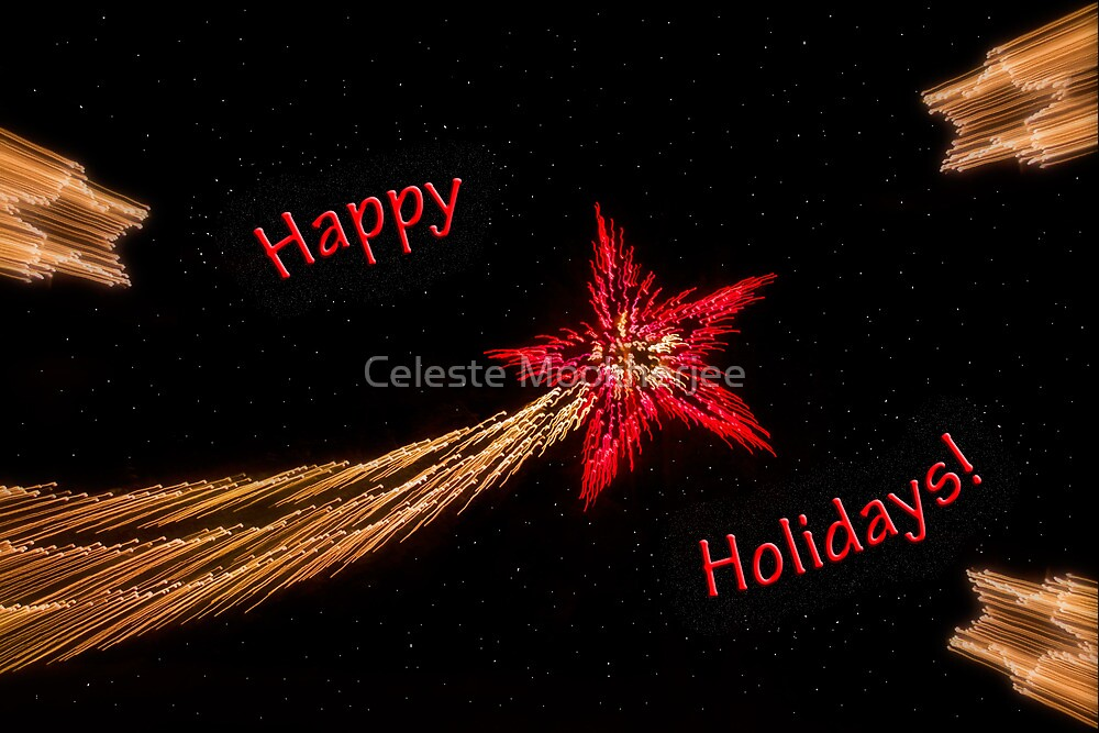 Holiday stars light-play by Celeste Mookherjee