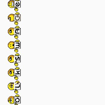 Vertical VW Emoticons by jay007