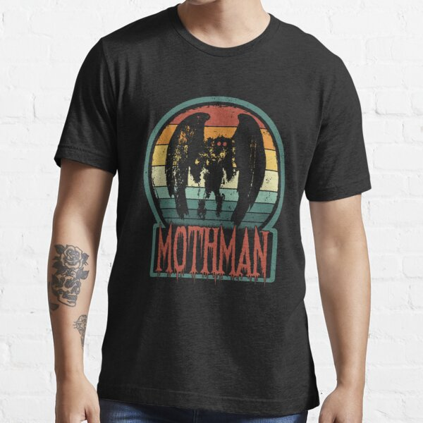 Mothman - Retro Vintage Point Pleasant, WV Cryptid Gift Essential T-Shirt