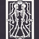 Skeleton Friends by Margaret Vance