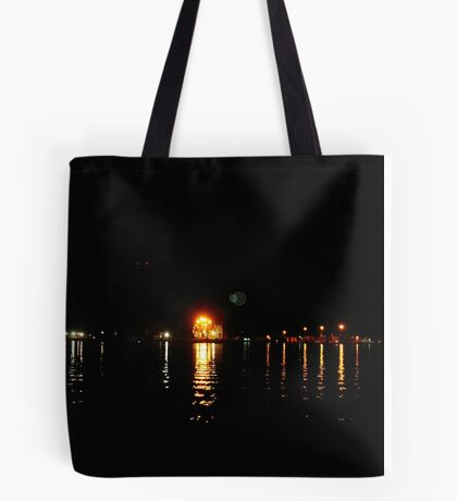 Galveston, TX from Fisherman's Wharf on the Strand Tote Bag