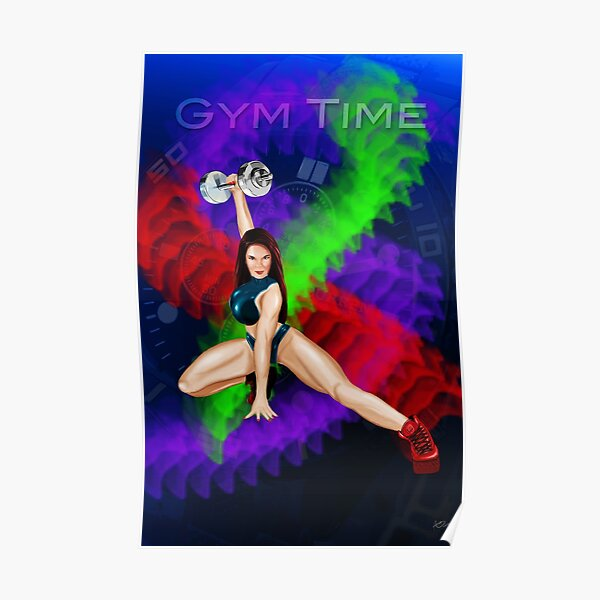 Fitness Series: Gym Time Poster