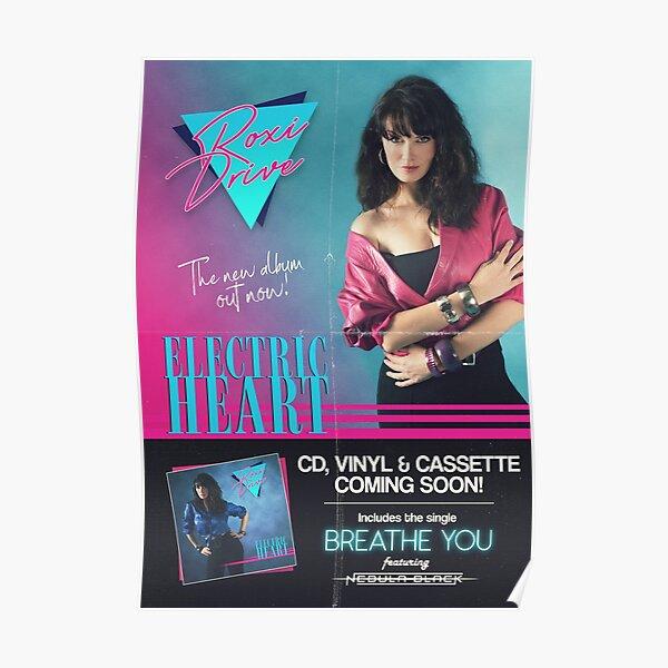Roxi Drive - Electric Heart Album Poster Poster