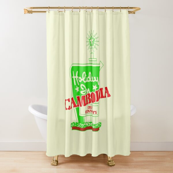 Holiday In Cambodia Shower Curtain