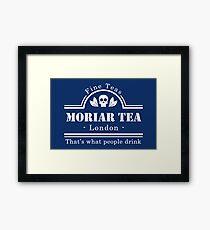 MoriarTea - White Framed Print