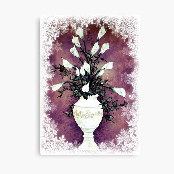 Winter White © Canvas Print