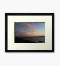 Clouds Reflecting - BB0363 Framed Print