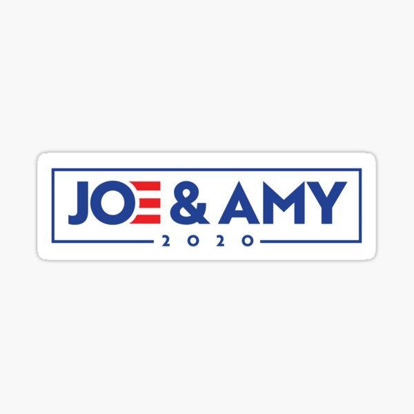 Joe & Amy 2020 Bumper Sticker Sticker