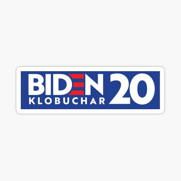 BIDEN / KLOBUCHAR 2020 Bumper Sticker Sticker