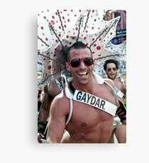 Gaydar - or getting in touch with your feminine side Canvas Print