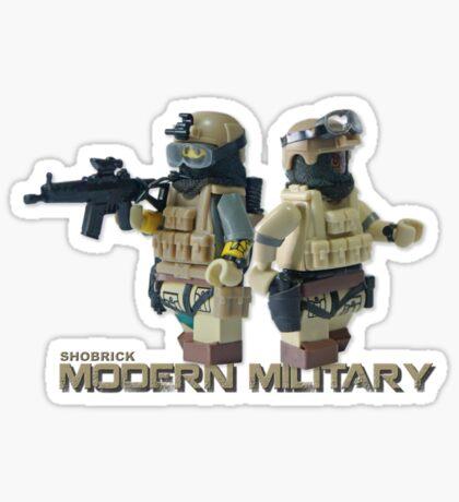 Modern Military Rabbit Sticker
