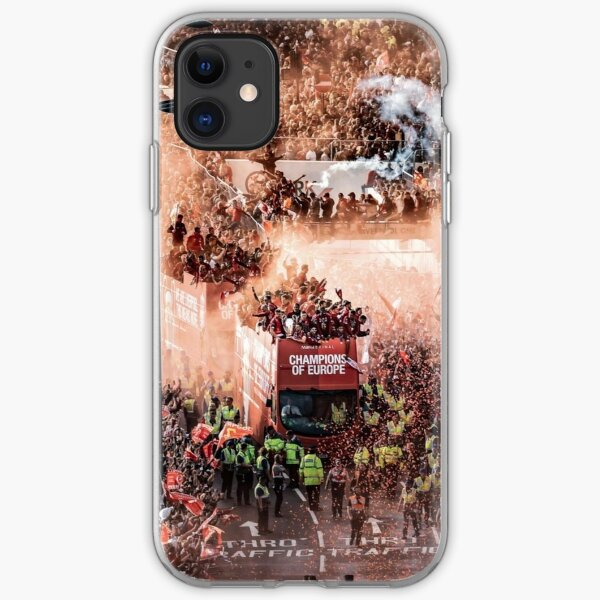 Liverpool FC Champions of Europe Parade iPhone Soft Case