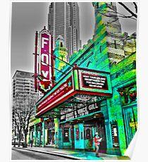 The Fabulous Fox Theater - Atlanta, Georgia Poster