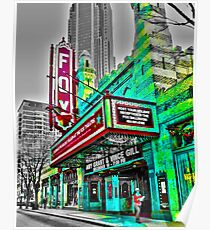 The Fabulous Fox Theater - Atlanta, Georgia Poster