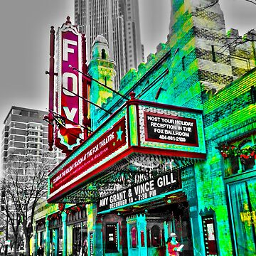 The Fabulous Fox Theater - Atlanta, Georgia by Happyhead64