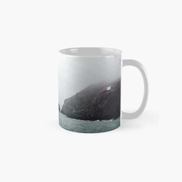 South Stack Lighthouse and Elin's Tower Classic Mug