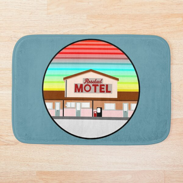 ROSEBUD MOTEL SCHITT'S CREEK Bath Mat