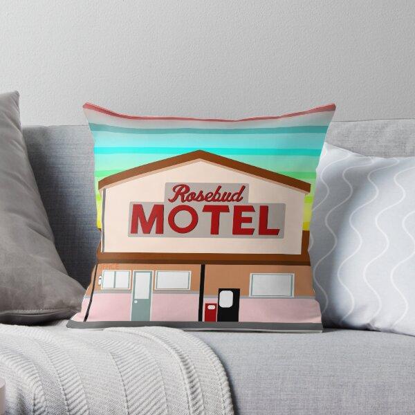 ROSEBUD MOTEL SCHITT'S CREEK Throw Pillow