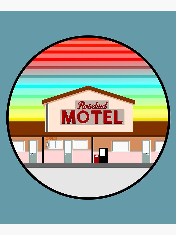ROSEBUD MOTEL SCHITT'S CREEK by LICENSEDLEGIT