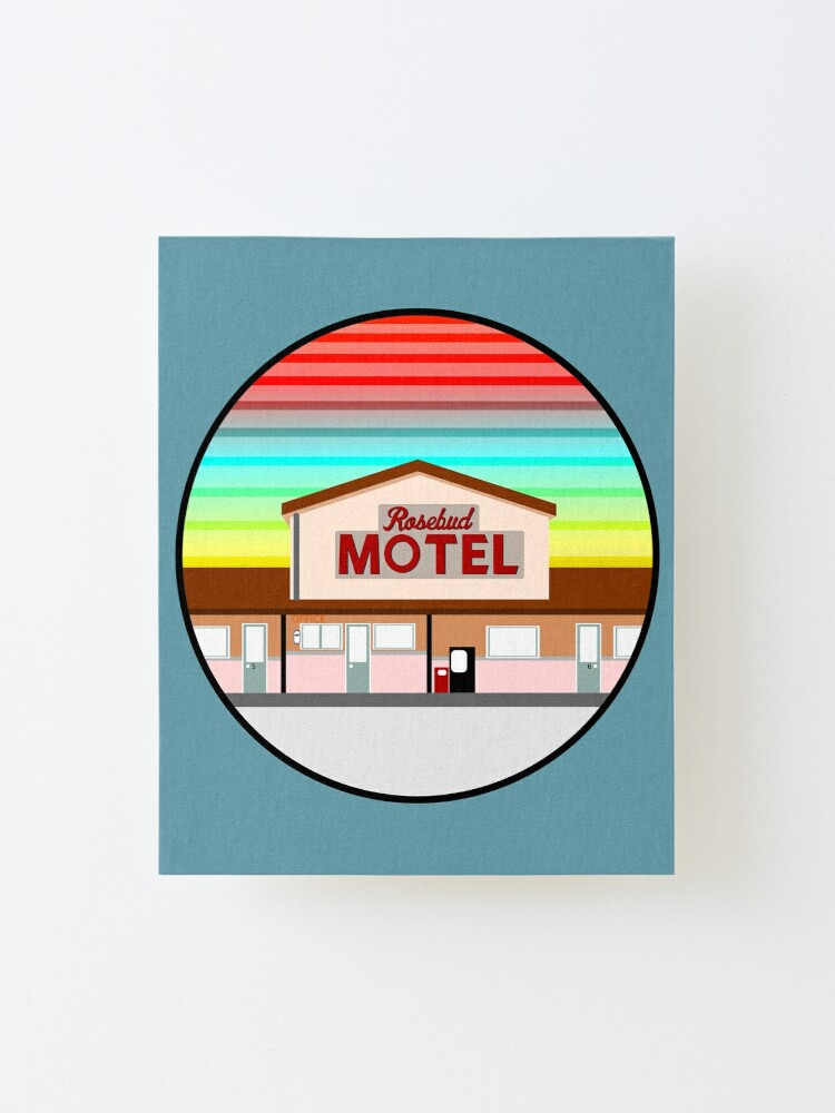 Alternate view of ROSEBUD MOTEL SCHITT'S CREEK Mounted Print