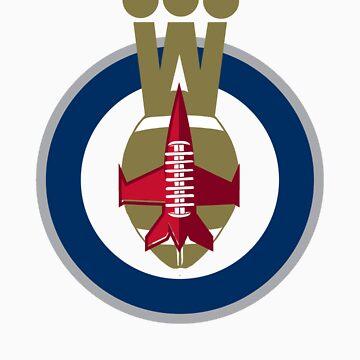 Winnipeg Jets + Bombers by jancarlob