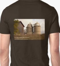 Two Silo's Talking About The Barn Unisex T-Shirt