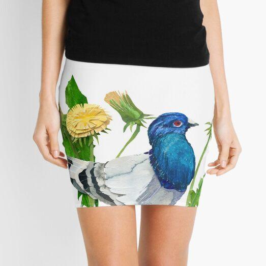 Dandelion Pigeon Mini Skirt