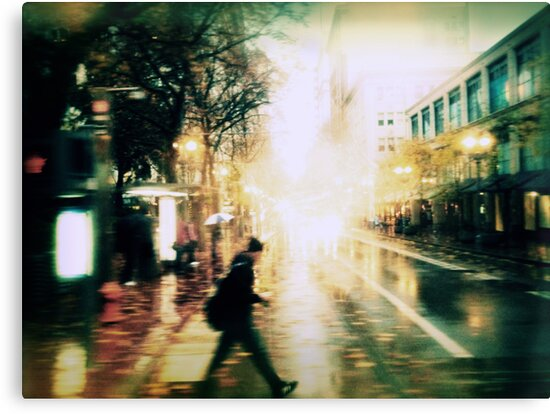 When Streets are Wet by Jeff Clark
