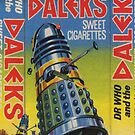 Dr Who and the Daleks by marting04