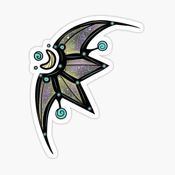 Star and Moon Symbol Sticker
