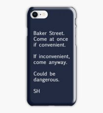 Sherlock Messages - 7 iPhone Case/Skin