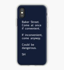 Sherlock Messages - 7 iPhone Case